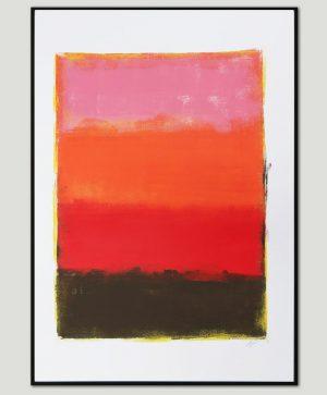abstracte kunst op papier