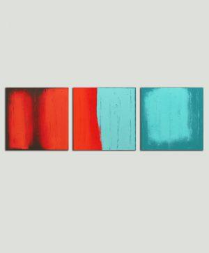 drieluik schilderij