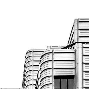 zwart wit gebouw foto