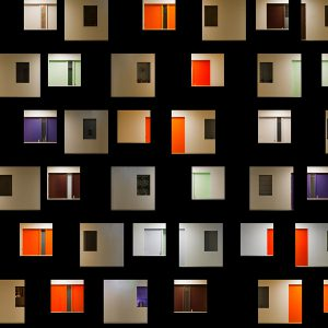 kleurrijke architectuur foto