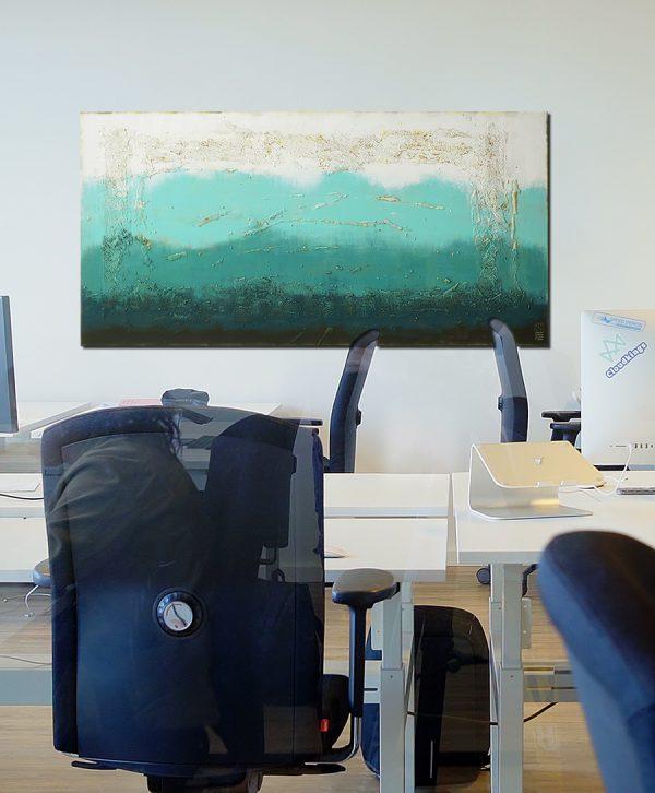 blauw schilderij kopen
