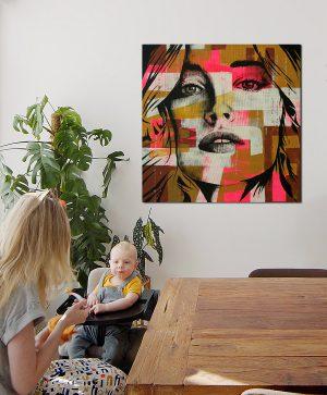 neon portret