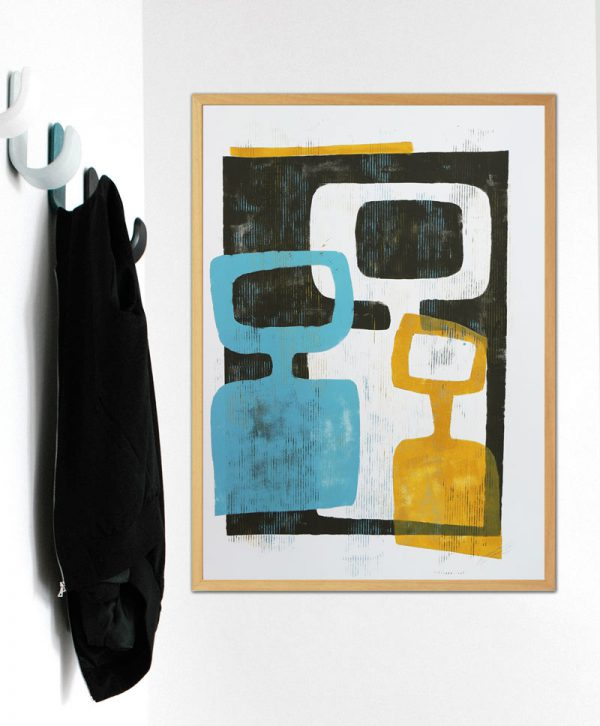 schilderijen op papier