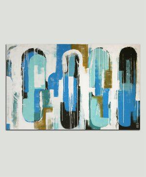 uniek abstract schilderij