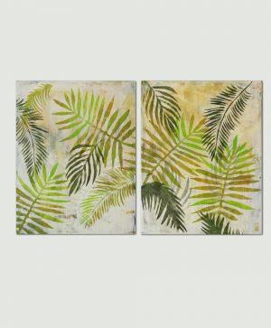 botanisch schilderij