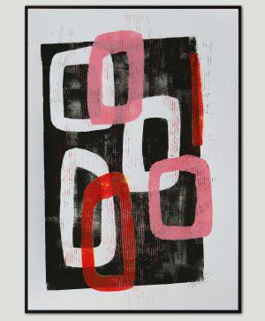 moderne kunst op papier