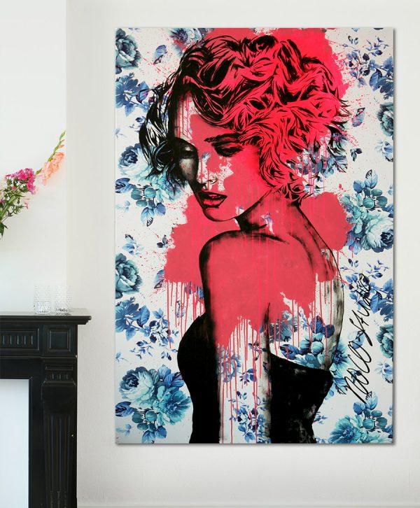 delfts blauw schilderij