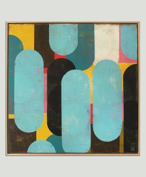 geel_gelijst_schilderij_moderne_abstracte_kunst_front