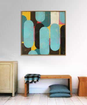 geel_gelijst_schilderij_moderne_abstracte_kunst_room2