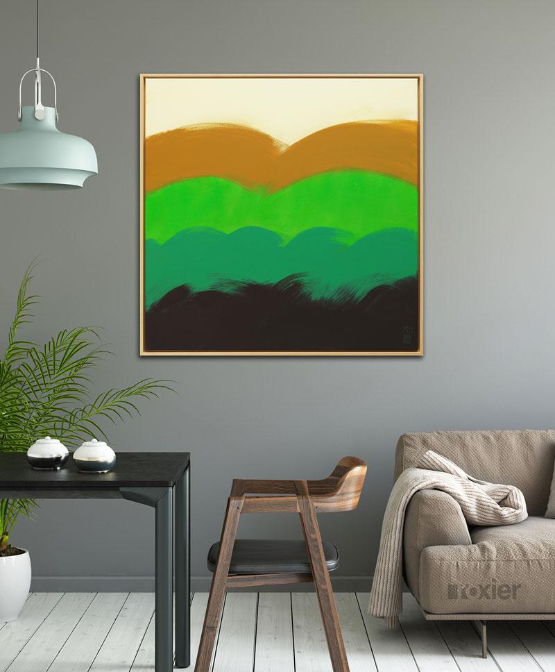 groen kunst kopen