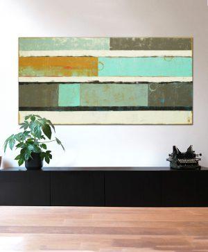 groot abstract schilderij kopen