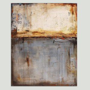 industrieel schilderij