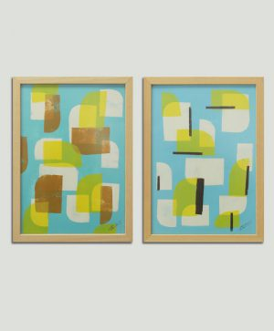 koop tweeluik schilderij
