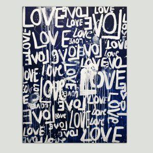 love schilderij