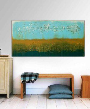 modern landschap schilderij