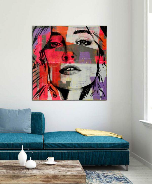 modern portret