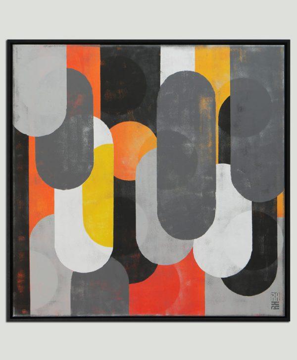 mono pop art schilderij