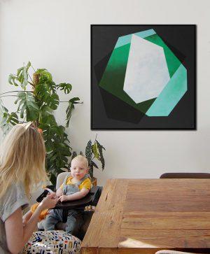 groen kunst kopen kleur
