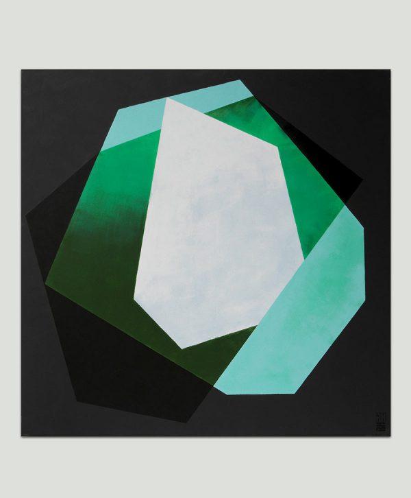 mooi geometrisch schilderij