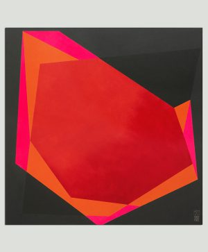neon minimalistisch schilderij