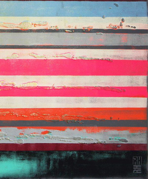 schilderij neon kleuren