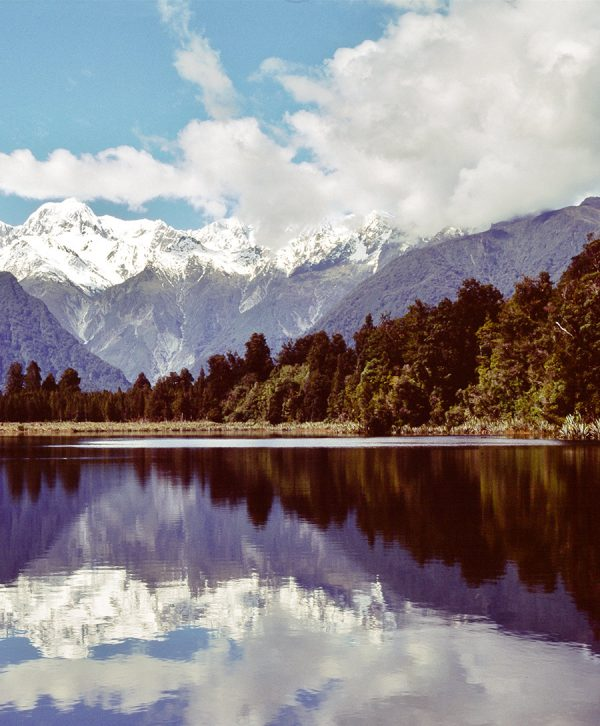 lake matheson foto