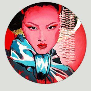 portret geisha