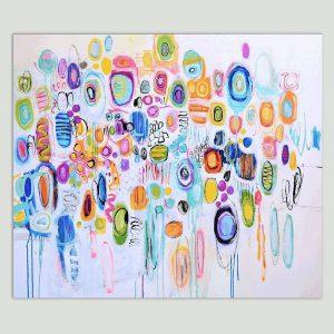 prachtig abstract schilderij