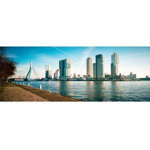 rotterdam skyline foto