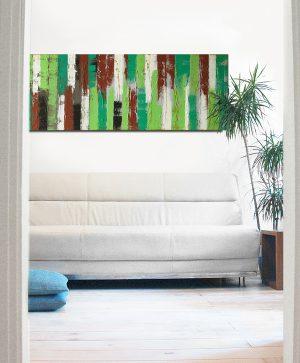 schilderij boven bed