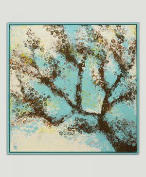 schilderij met boom