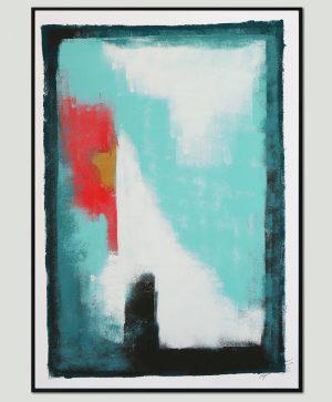 schilderij op a2 papier
