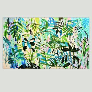tropisch schilderij