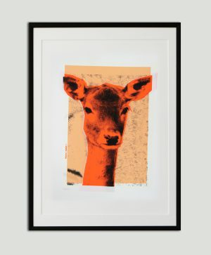 warhol zeefdruk deer 2