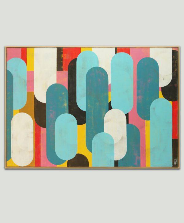 xl pop art schilderij