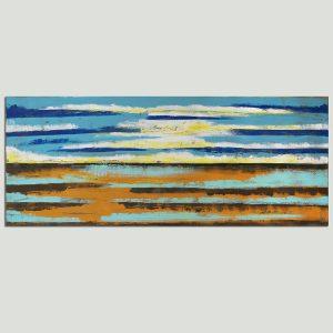 zee landschap schilderij